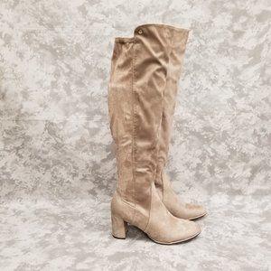 New Liz Claiborne Leyla Over The Knee Boots - 9.5